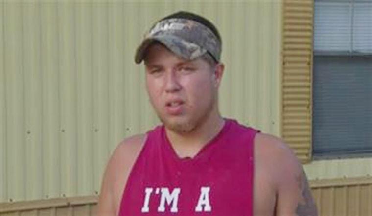 Joseph Meek, a friend of Dylann Roof, speaks to The Associated Press on June 18, 2015.