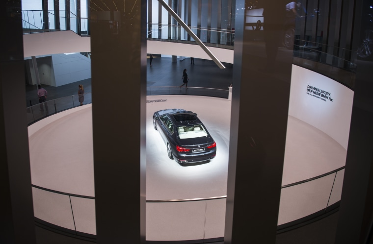 Image: BMW 750i X-drive car