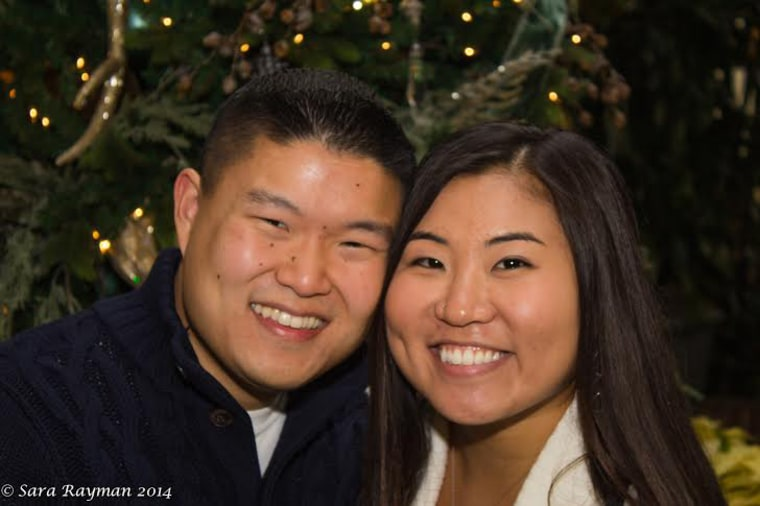 Lee and Whitney during Christmas 2014 at the Opryland Hotel in Nashville, TN