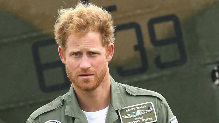 Image: Prince Harry Attends The Battle Of Britain Flypast