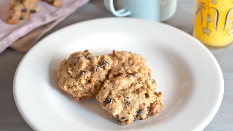 Fruit and Nut Breakfast Cookies recipe