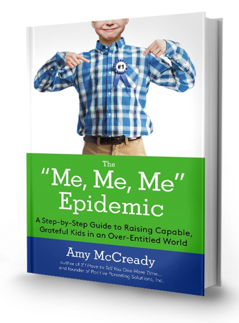 """The 'Me, Me, Me' Epidemic"" book cover"