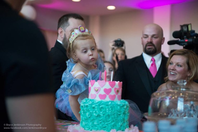 Lila May Schow got a Cinderella-themed bash