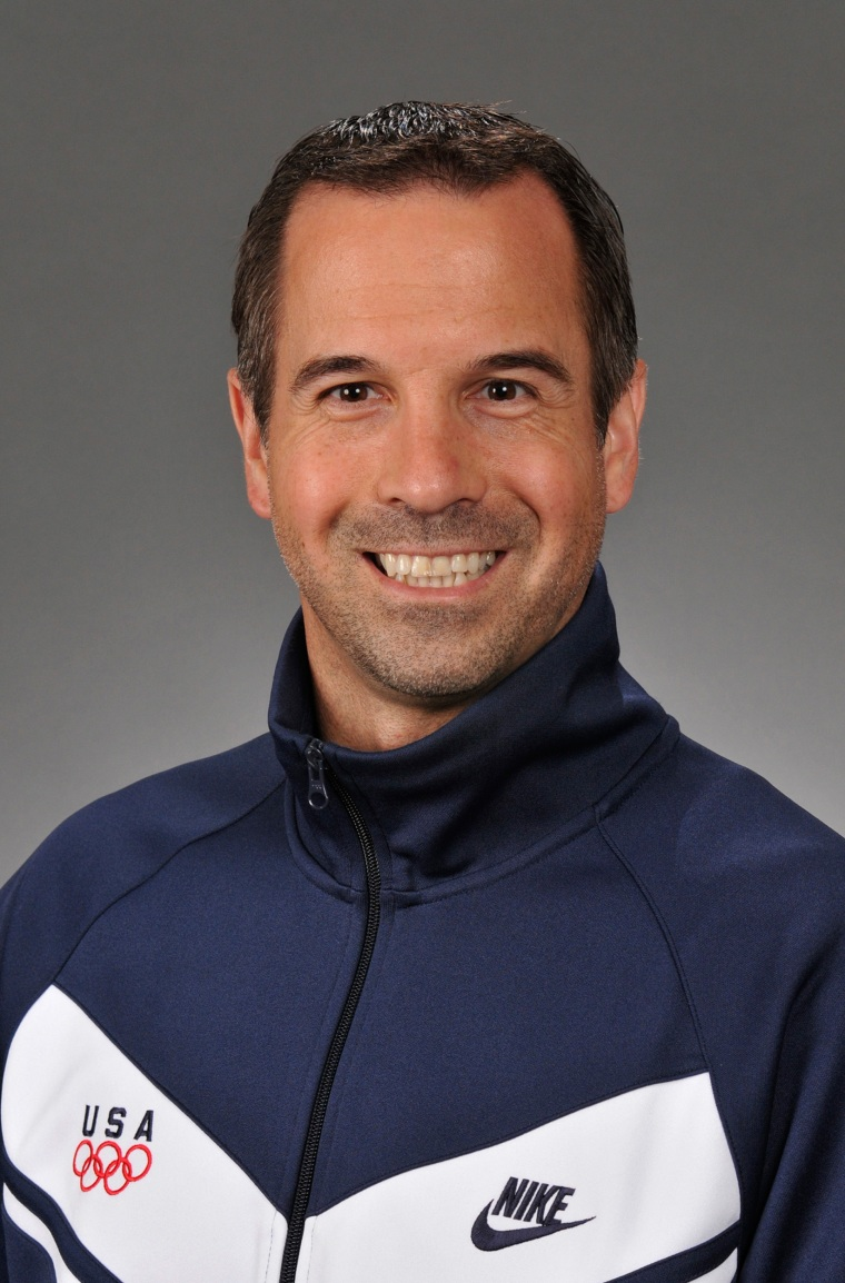 Image: Marvin Sharp was a member of the 2008 U.S. Olympic Womens Gymnastics team.