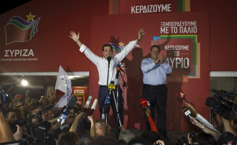 Image: Alexis Tsipras
