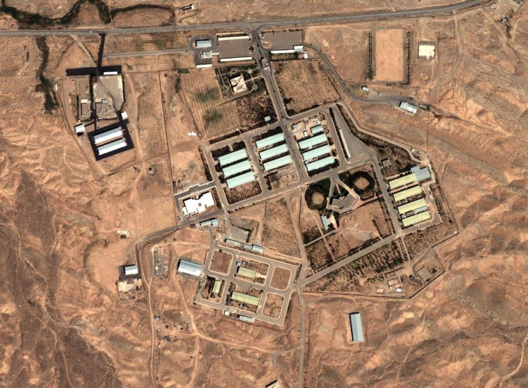 Image: Parchin military site in Iran