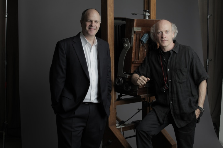 """""""American Masters"""" series executive producer Michael Kantor and """"American Masters: The Women's List"""" filmmaker/photographer Timothy Greenfield-Sanders."""