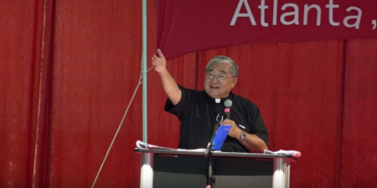 Fr. Stephen Man Tha Pwa acts as one of the spiritual advisers for his small community, as well as the National Conference of Burmese-American Catholics.