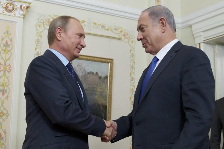 Image: Vladimir Putin, Benjamin Netanyahu