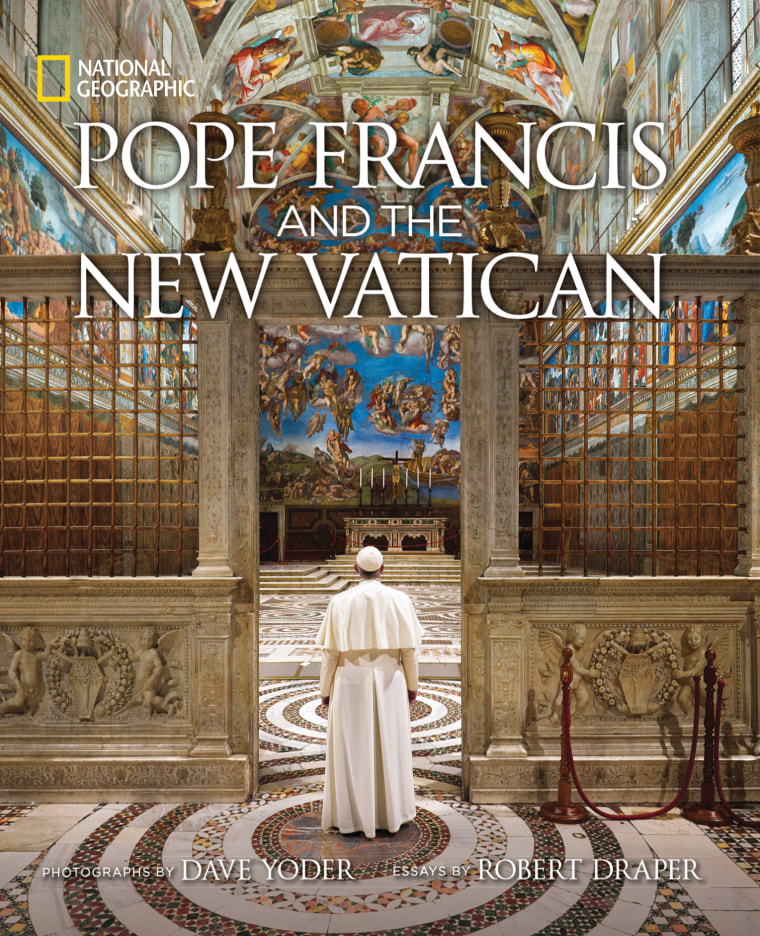 """National Geographic's new book """"Pope Francis and the New Vatican."""""""