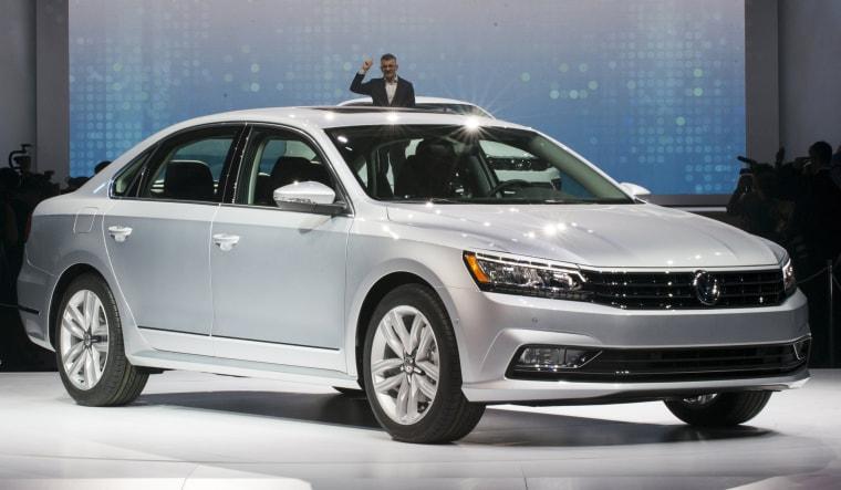 Image:The 2016 Volkswagen Passat revea