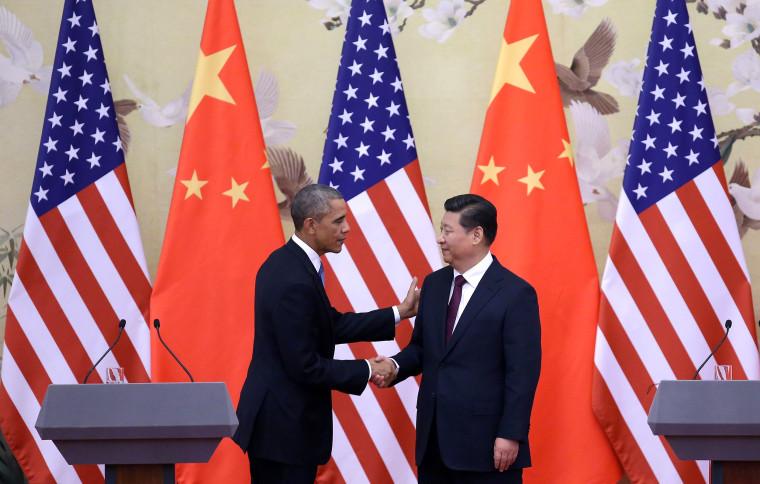 Image: Barack Obama Visits China