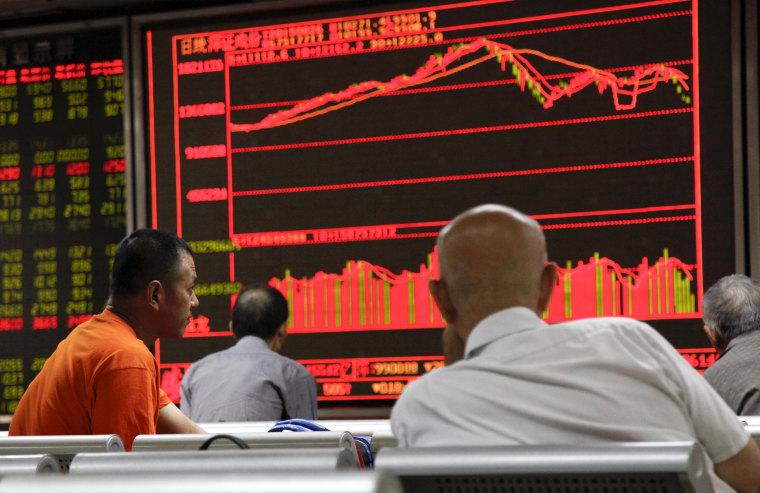Image: China stock market