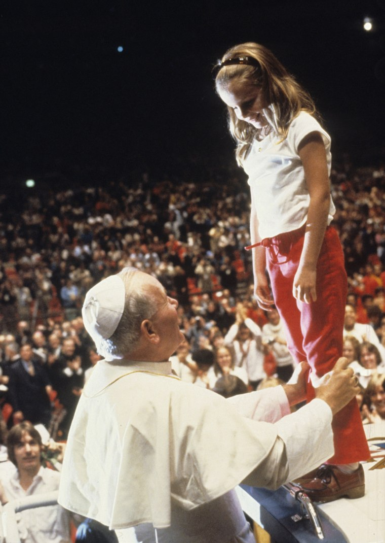 The Pope at Madison Square Garden