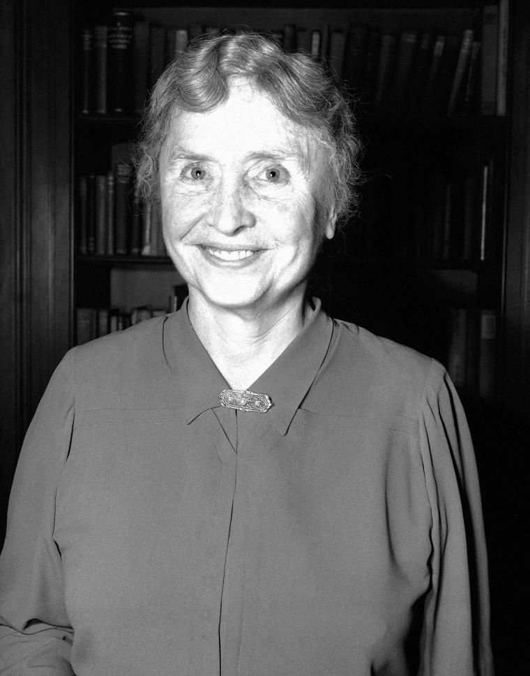 Image: Helen Keller