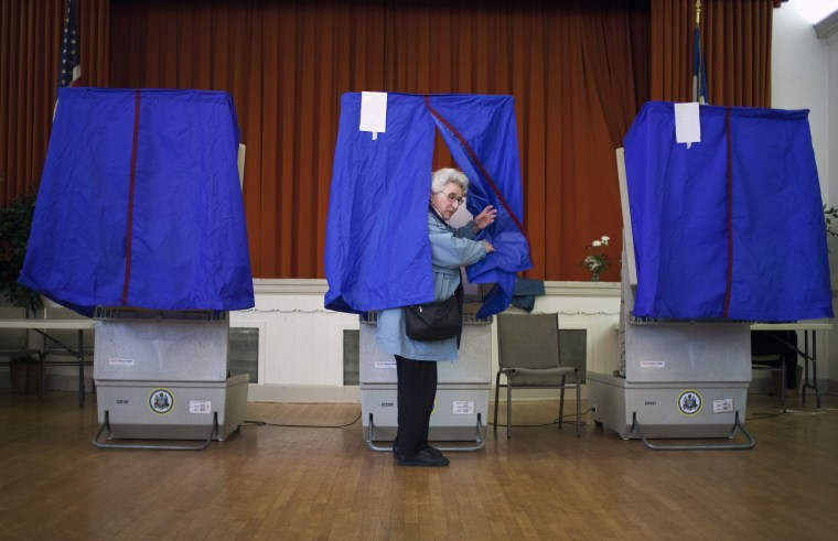 Image: Pennsylvania Voters Take Part In The State's GOP Primary