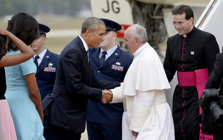 Image: Pope Francis in Washington DC
