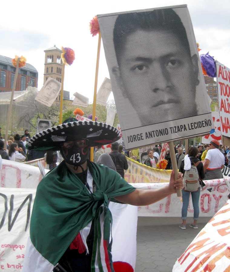 Image: Missing Mexican students
