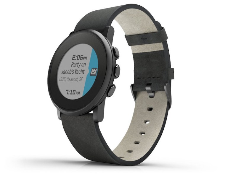 Ditch the Square Face With Pebble's New Smartwatch
