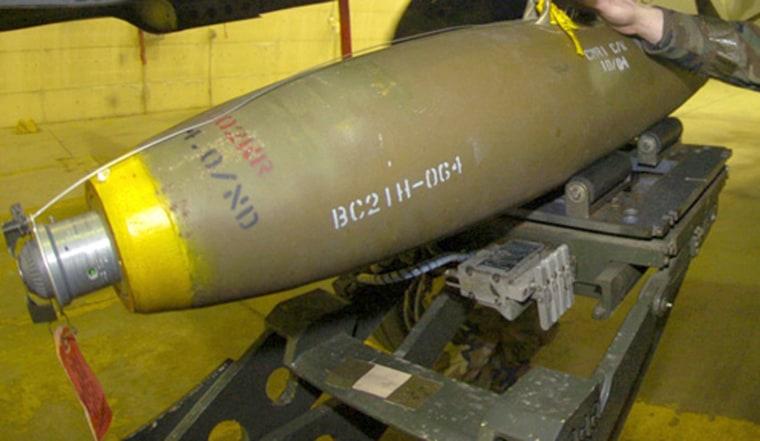 Image: MK-82 bomb