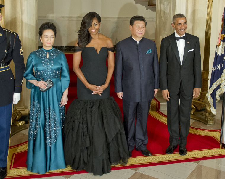 President Obama Hosts Chinese President Xi Jinping For State Visit