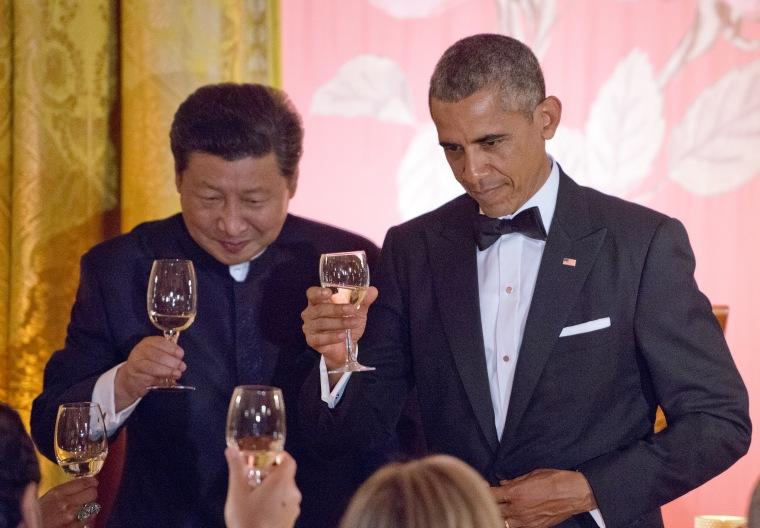 President Barack Obama and President Xi Jinping of China