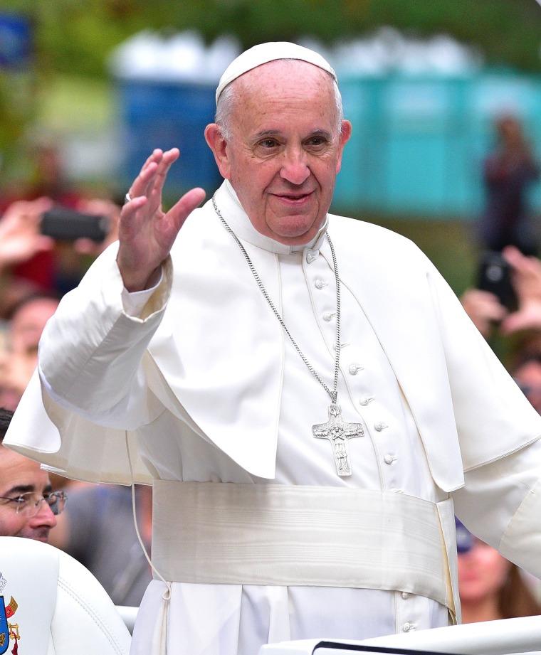Image: ***BESTPIX*** Pope Francis Visits New York City