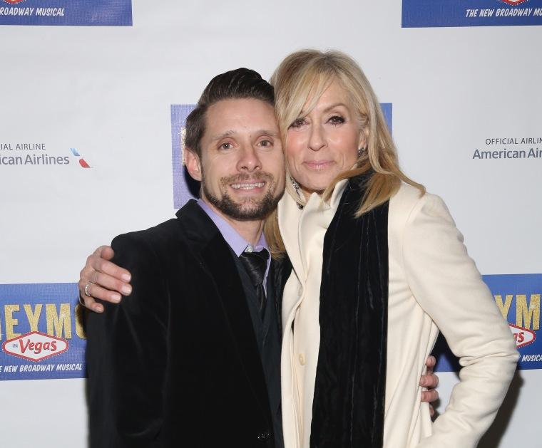 Danny Pintauro (L) and Judith Light