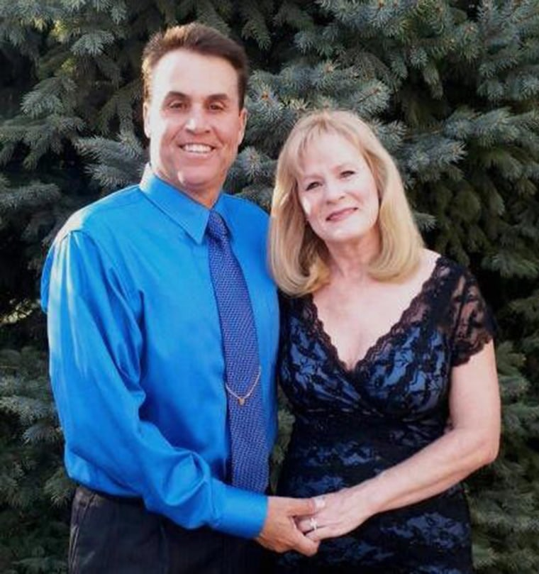 Image: Harold Henthorn, and his wife Toni