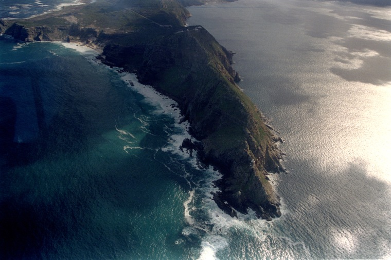 Image: Aerial view of the Cape of Good Hope