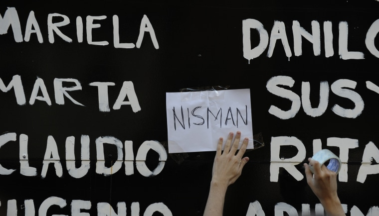 ARGENTINA-ISRAEL-IRAN-AMIA-ATTACK-PROSECUTOR-NISMAN