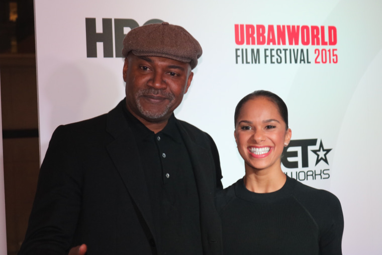 Nelson George and Misty Copeland at the 2015 UrbanWorld Festival in New York.