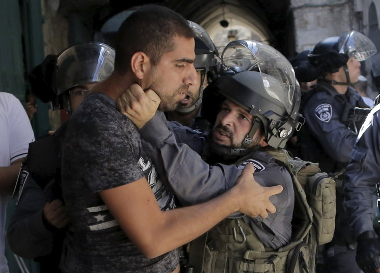 Tensions Rise at Jerusalem Holy Site on Jewish Holiday