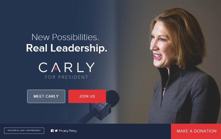site: carlyforpresident.com