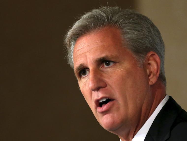 Image: House Majority Leader McCarthy speaks at the John Hay Initiative in Washington