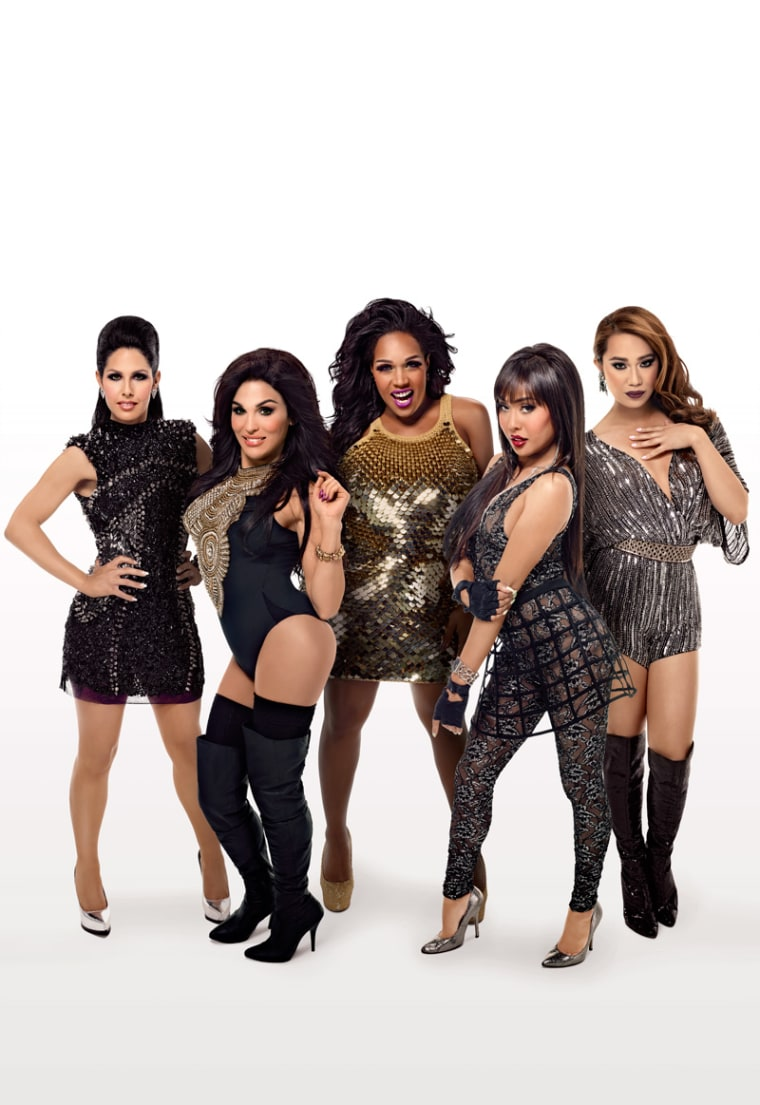"""The five ladies of the upcoming show, \""""Transcendent\"""""""