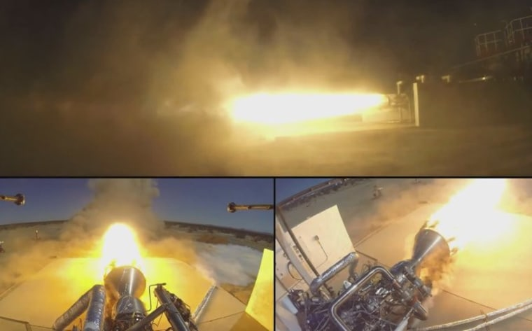 Virgin Galactic Test-Fires Engine for Satellite-Launching Newton Rocket