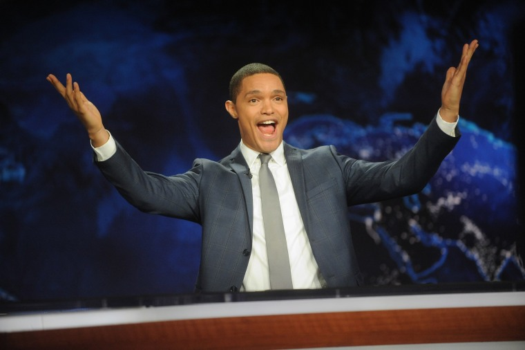 "Image: ""The Daily Show with Trevor Noah"" Premiere"