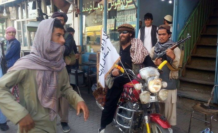 Image: Taliban fighter in Kunduz