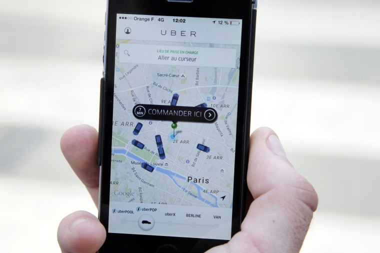 Image: The French version of the UberPOP service