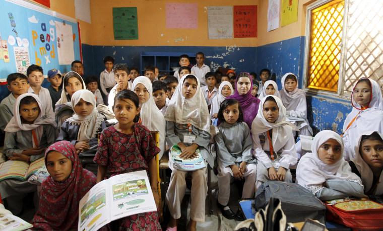 Image: Wider Image: Schools Around The World