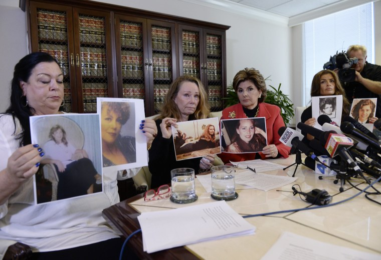 Image: Gloria Allred Holds Press Conference With Three New Alleged Victims In The Bill Cosby Scandal