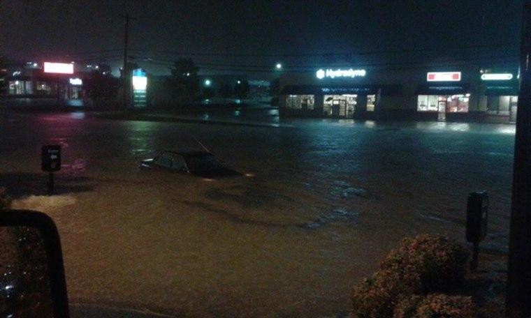 Image: Flash floods in Spartanburg, South Carolina