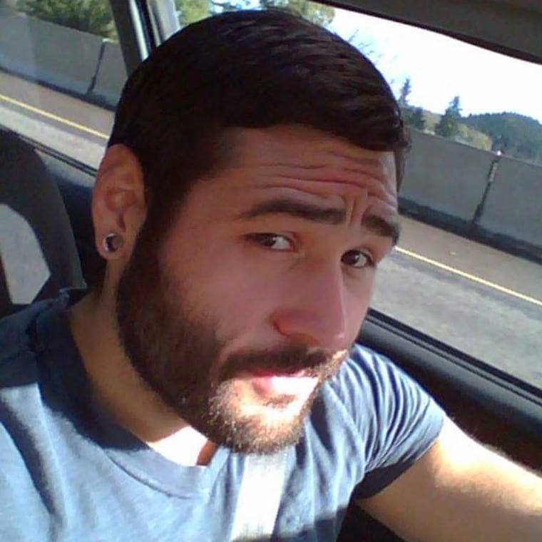 Chris Mintz, wounded in the attack on a school in Oregon.