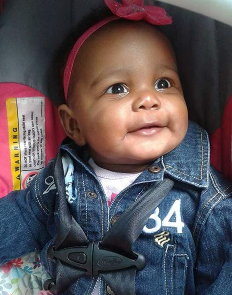 5-month-old Aavielle Wakefield was shot and killed on Cleveland's east side on Oct. 1.
