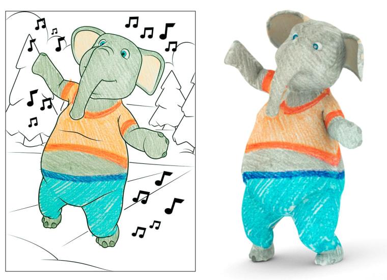 Disney's High-Tech Coloring Books Let Kids Scribble in 3-D