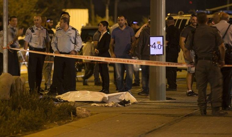 Image: Second Palestinian attack on Jewish in Jerusalem
