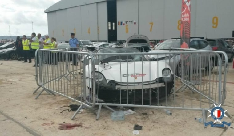 IMAGE: Porsche in Maltese crash