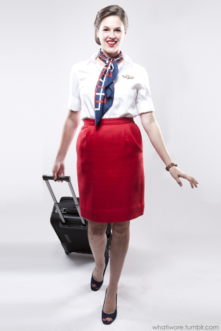 homemade halloween costumes flight attendant costume