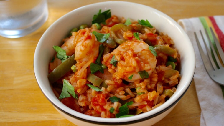 One-Pot Spanish Shrimp and Rice recipe